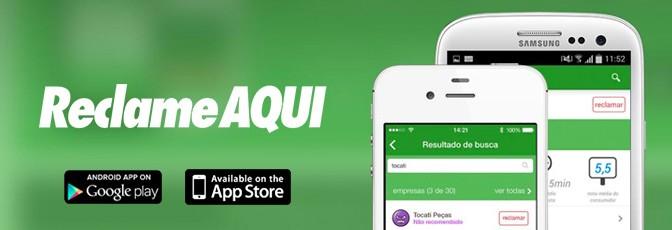 Confira o aplicativo do Reclame AQUI