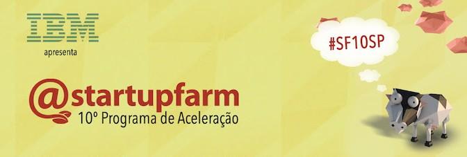 A Jera é parceira da 10ª edição do StartupFarm em São Paulo