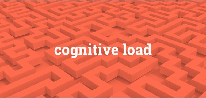 Minimize a carga cognitiva para maximizar a usabilidade