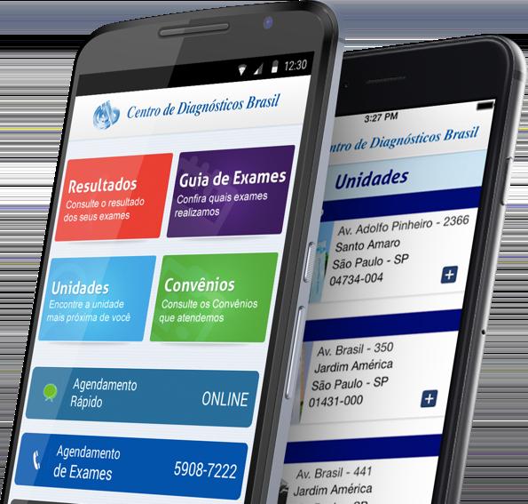 Centro de Diagnósticos Brasil Screenshot