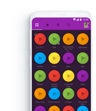 Fun Sounds Instant Buttons 3.0 Screenshot